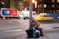 New- York Citynacht stockbilder