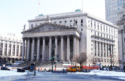 New- York Cityoberstes gericht Lizenzfreie Stockfotos