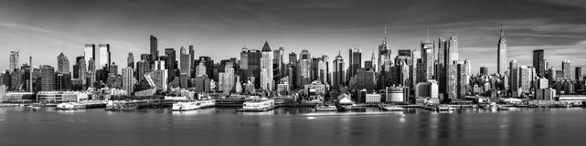 New- York Citypanorama lizenzfreies stockfoto