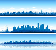 New York Cityscape Royalty Free Stock Images