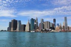 New York Cityscape. Skyline of lower Manhattan in New York City Royalty Free Stock Image