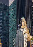 New York cityscape birds eye view Royalty Free Stock Photography