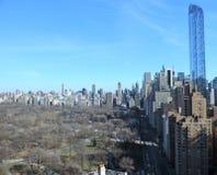 New York cityscape at Columbus Circle, NYC. Stock Image