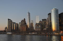 New York cityscape, NYC. Royalty Free Stock Images