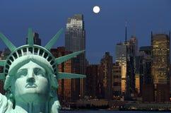 New york cityscape, tourism concept photograph stock photography