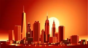 New- York CitySkyline lizenzfreie abbildung