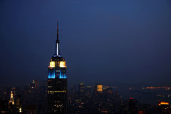 New- York CitySkyline Lizenzfreies Stockbild