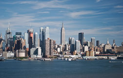 New- York CitySkyline Lizenzfreie Stockbilder