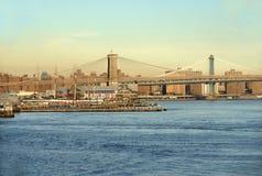 New- York CitySkyline Lizenzfreie Stockfotos