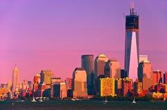 New- York Cityskyline lizenzfreie stockfotografie