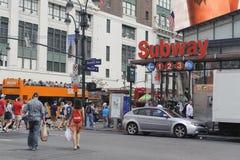 New- York Citystadtmitte Lizenzfreies Stockbild