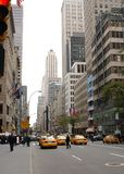 New- York Citystraße Lizenzfreies Stockbild