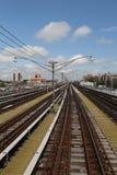 New- York Cityu-bahneisenbahn Lizenzfreie Stockfotografie