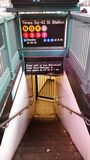 New- York Cityuntergrundbahn lizenzfreies stockbild