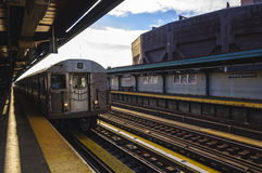 New- York Cityuntergrundbahn Lizenzfreies Stockfoto