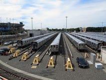 New- York CityUntergrundbahnen Stockfotos