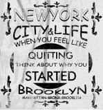 New- York Cityvektorkunst Lizenzfreie Abbildung