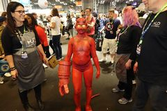 New York Comic Con 2018 Saturday 63 royalty free stock photography