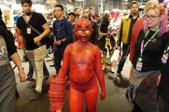 New York Comic Con 2018 Saturday 60 stock images