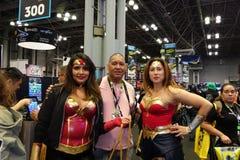 New York Comic Con 2018 Saturday 38 stock photography