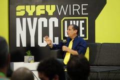 New York Comic Con 2018 Sunday 4 stock image
