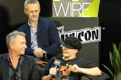 New York Comic Con 2018 Cast Of Gotham Panel 27 royalty free stock photo