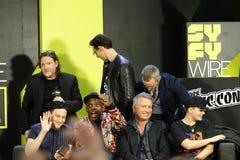 New York Comic Con 2018 Cast Of Gotham Panel 19 stock image