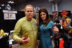 The 2014 New York Comic Con 23 Royalty Free Stock Images
