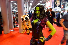 The 2014 New York Comic Con 13 Stock Photos