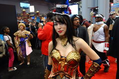 The 2014 New York Comic Con 148 Stock Photography