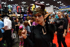 The 2014 New York Comic Con 107 Stock Image