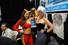 The 2014 New York Comic Con 103. This convention is held at the Javits Convention Center In New York City stock image