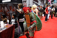 The 2014 New York Comic Con 83 Royalty Free Stock Photography