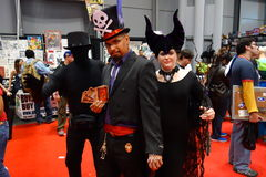 The 2014 New York Comic Con 77 Royalty Free Stock Images