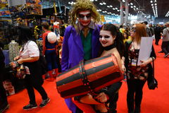 The 2014 New York Comic Con 74 Stock Images