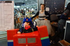The 2014 New York Comic Con 45 Royalty Free Stock Images