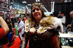 The 2014 New York Comic Con 48 Royalty Free Stock Image
