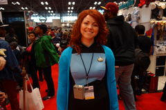 The 2014 New York Comic Con 59 Stock Image