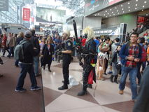 The 2013 New York Comic Con 6 Stock Images