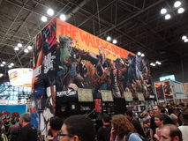 The 2013 New York Comic Con 23 Royalty Free Stock Images