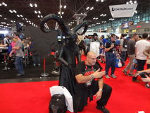 The 2013 New York Comic Con 25 Stock Images