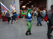 The 2013 New York Comic Con 96 Royalty Free Stock Photos