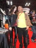 The 2013 New York Comic Con: LeeAnna Vamp 1 Stock Image