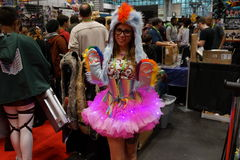 New York Comic Con 2015 Part 3 45 Stock Photography