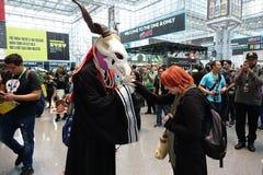 New York Comic Con 2018 Saturday 76 stock image