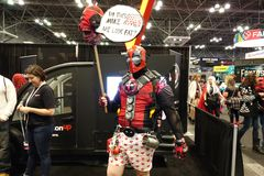 New York Comic Con 2018 Saturday 41 royalty free stock images