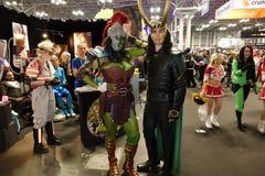 New York Comic Con 2018 Saturday 37 stock photos