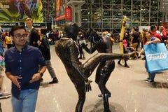 New York Comic Con 2018 Saturday 34 royalty free stock photography