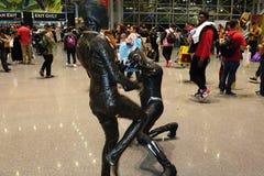 New York Comic Con 2018 Saturday 29 stock photos