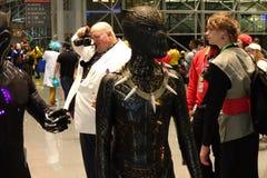 New York Comic Con 2018 Saturday 21 stock photos
